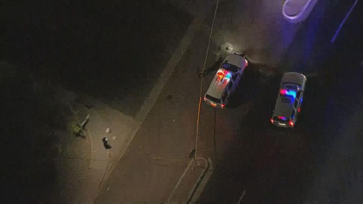 Officers on scene of a shooting in Phoenix