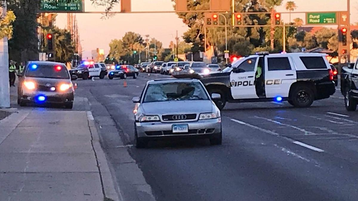 Tempe car pedestrian accident