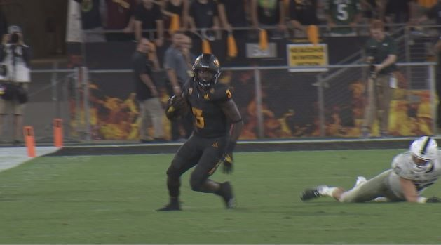 Eno's Impact: ASU running back's kind word for kicker lead to upset win