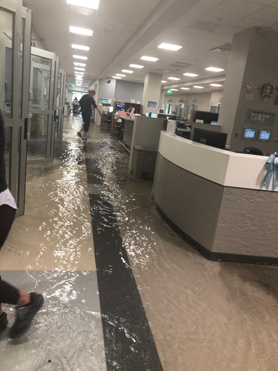FLOODING AT BANNER