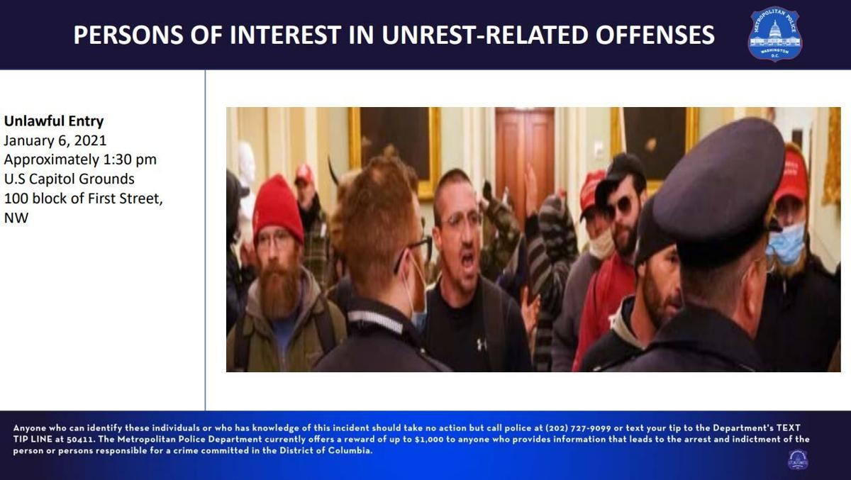 Persons of Interest in unrest-related offenses