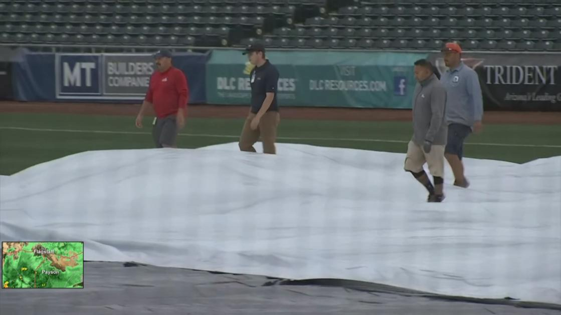 LIST: Phoenix-area rain cancels, delays Cactus League spring training games