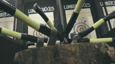 Grab some friends and go ax throwing at all new Tempe venue