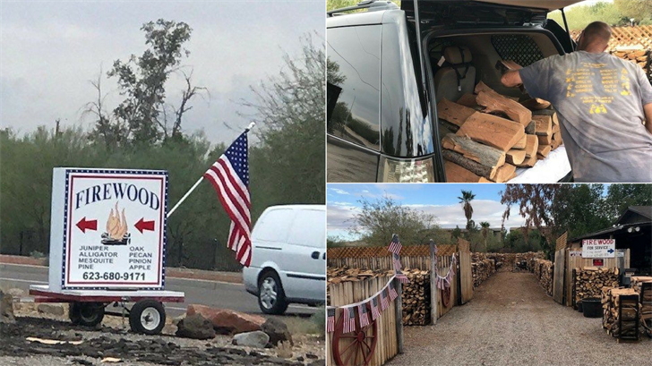 The best wood for your fire pit in Arizona