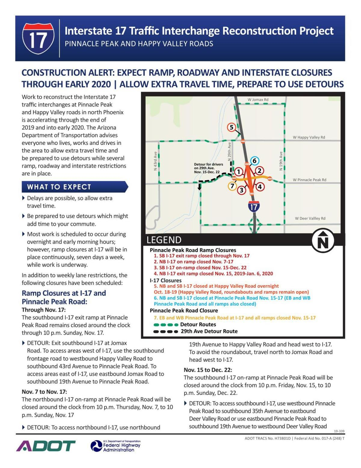 Interstate 17 Traffic Interchange Reconstruction Project