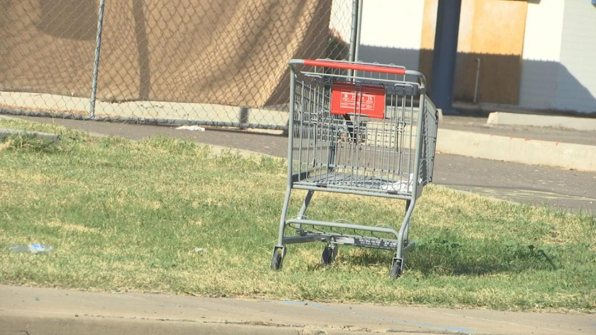 Many cities have laws about abandoned shopping carts