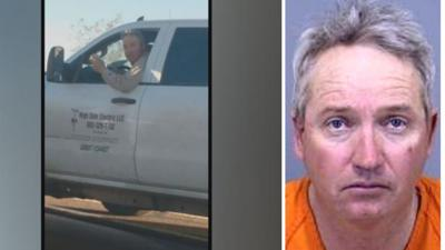 Ryan Bryson, 46, was arrested for disorderly conduct