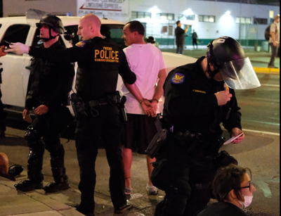 Arrest records show protesters local, not from out of town