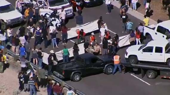 Three arrested in anti-Trump protest in Fountain Hills