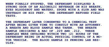Excerpt from Kevin Staab's public court documents