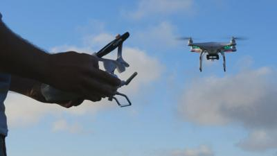 """""""We are concerned with the number of pilot-drone sighting reports we're getting and the number or reports we're getting around airports,"""" said Ian Gregor, who works for the FAA."""