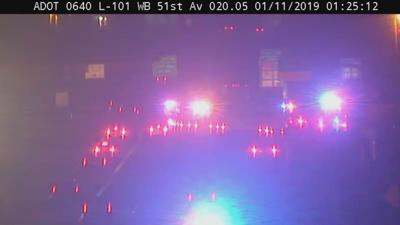 ADOT: Westbound Loop 101 at 51st Avenue