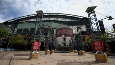 Chase Field main entrance