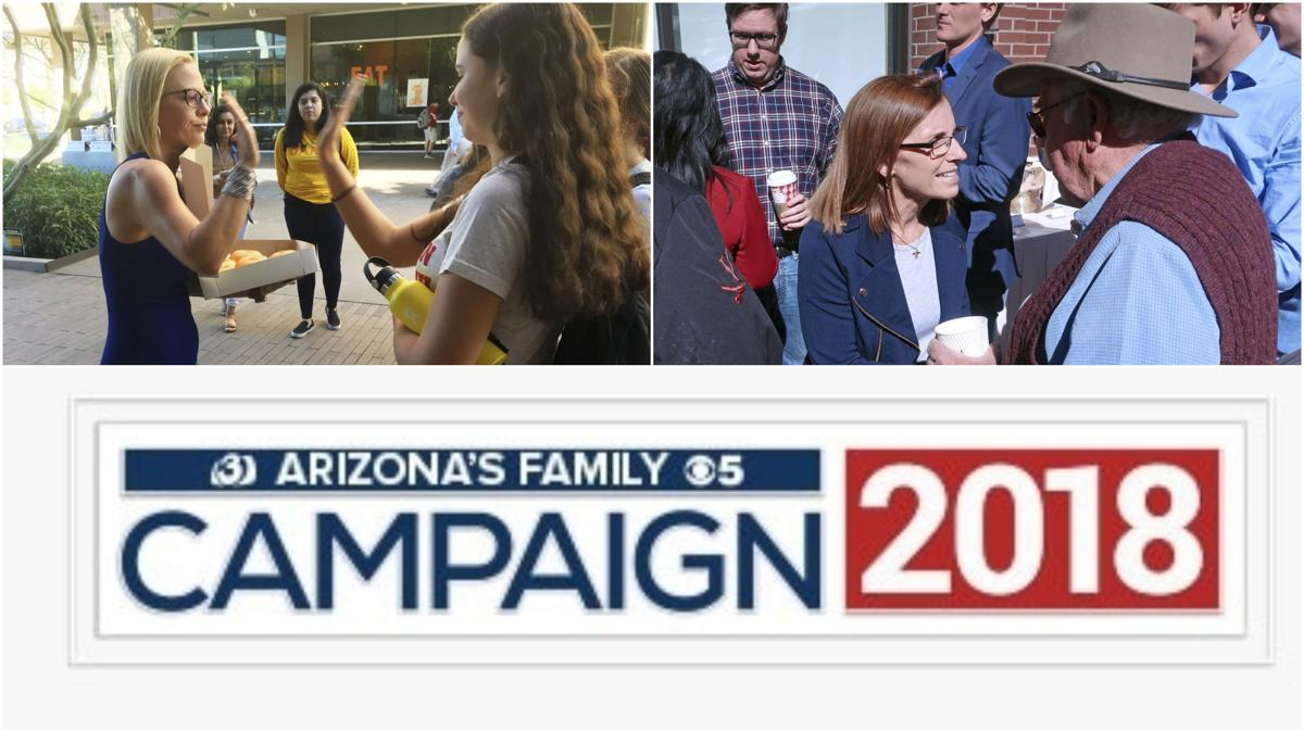 Kyrsten Sinema Martha McSally Senate race home stretch
