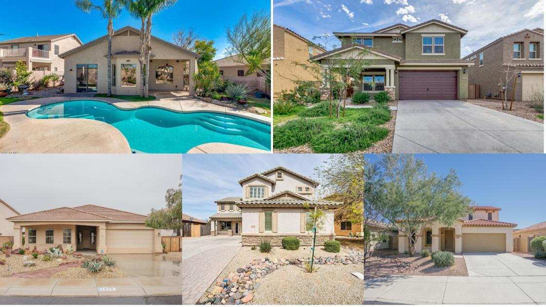 Five houses you can buy for under $400K in Phoenix area
