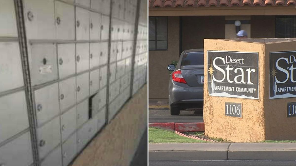 USPS stops mail delivery to Phoenix apartments due to rundown mailboxes