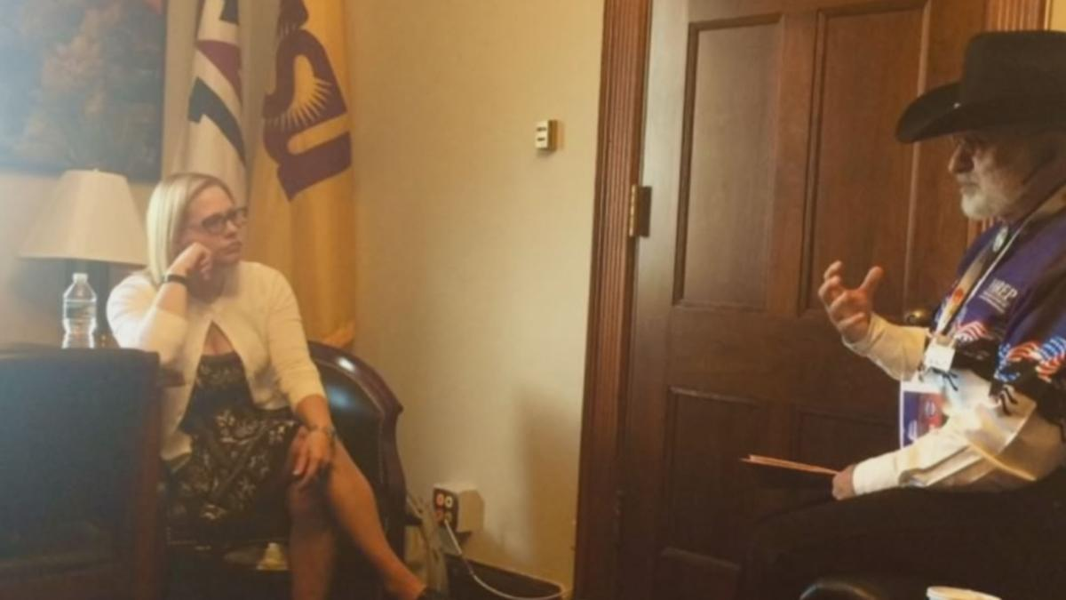 Sen. Kyrsten Sinema's first bill to become law protects military veteran homeowners