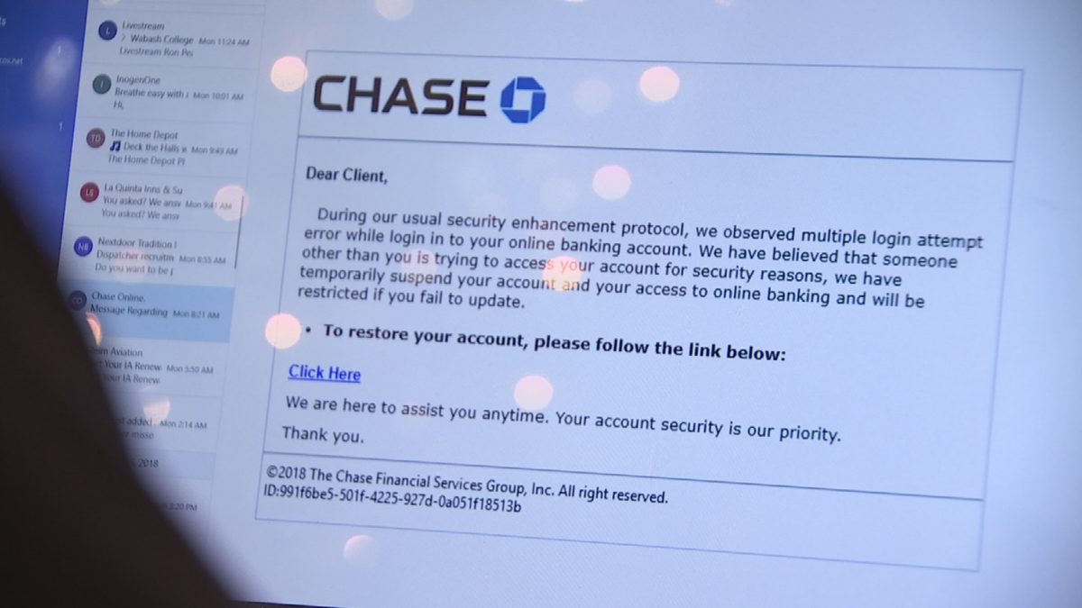 New phishing scam targets bank accounts