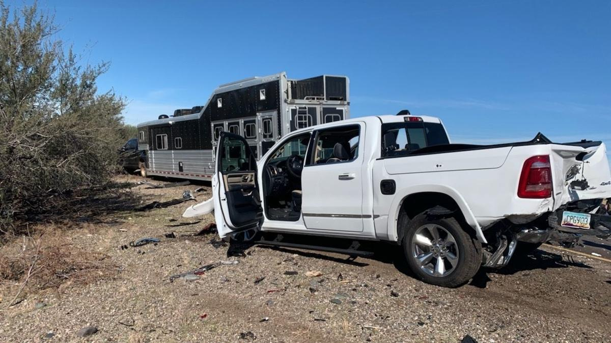 Horse trailer involved in deadly accident
