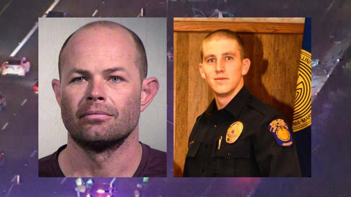Jerry Sanstead is the distracted driver accused of hitting and killing Salt River officer Clayton Townsend