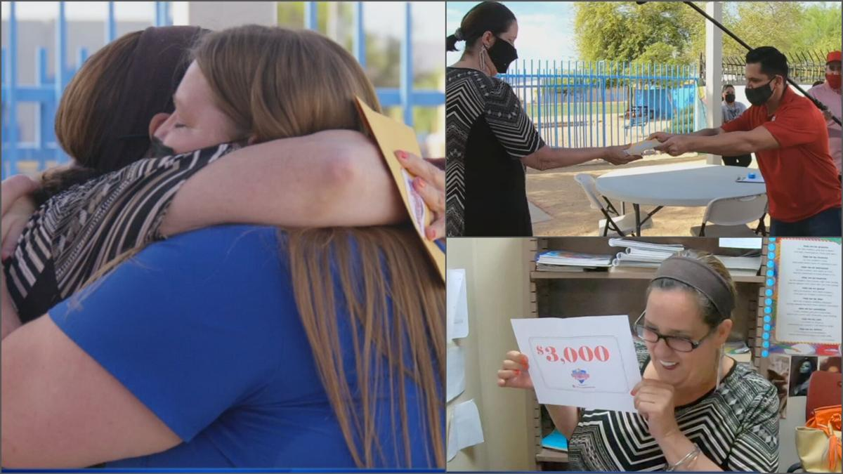 Phoenix teacher who was victim of hit-and-run gets big surprise