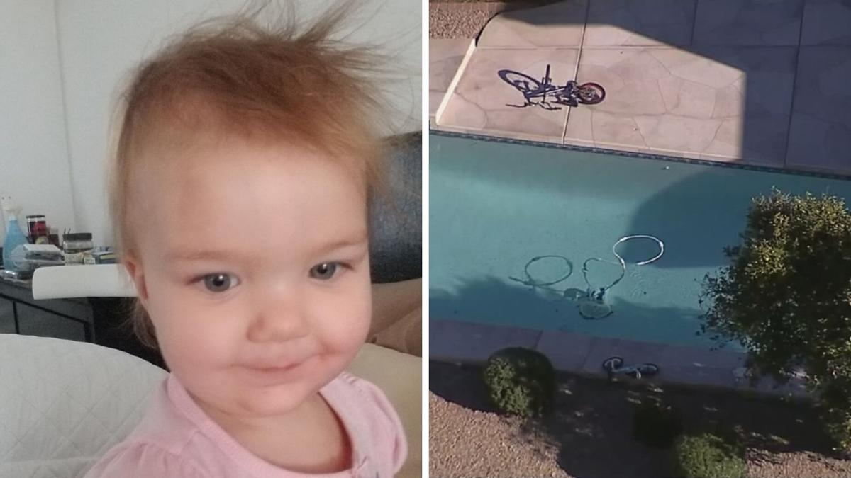 """Very tragic incident:"" 1-year-old girl fighting for life after pulled from Mesa pool"