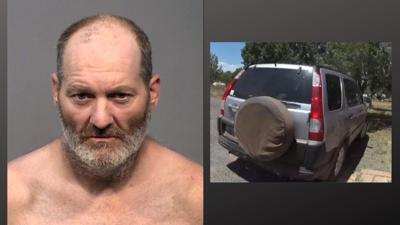 A $500K warrant has been issued for Charles Gregory Jones, 47, who's accused of stabbing his 69-year-old mother at her Ashfork home on Aug. 15.