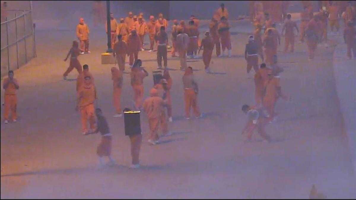 VIDEO: Authorities release video of prison riot in Yuma