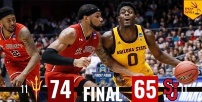 Way to go Devils! Arizona State beats St. John's 74-65 in First Four