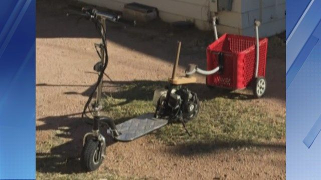 Thief steals disabled man's scooter in Apache Junction