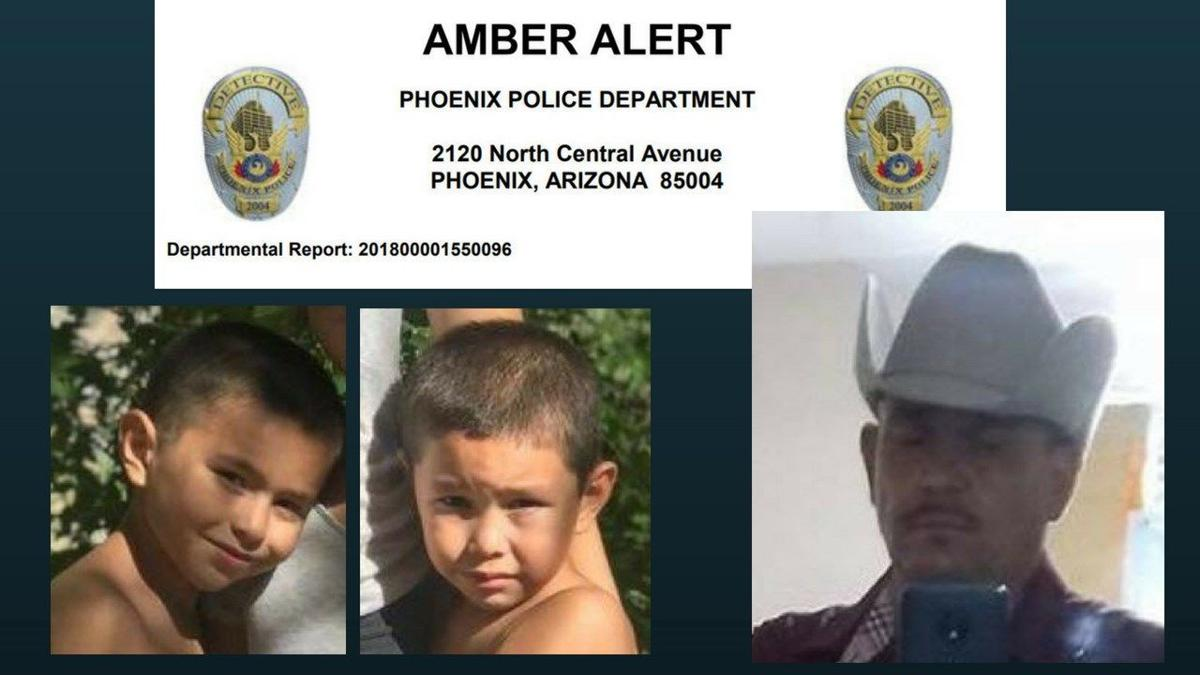 UPDATE: Amber Alert for 2 Phoenix boys and murder suspect extended to Mexico