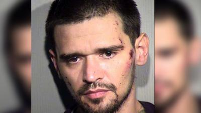 Lewis Martinez, 28, faces multiple felony charges of fraud, theft and resisting arrest.