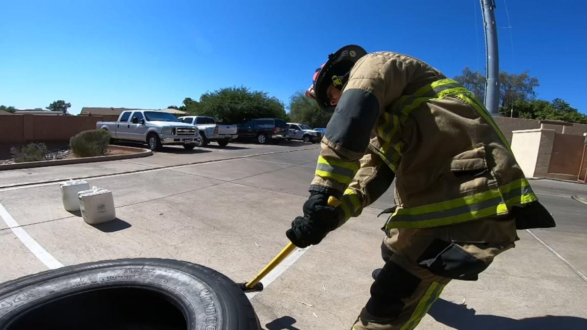 Firefighters stay in top condition to deal with Arizona summer heat