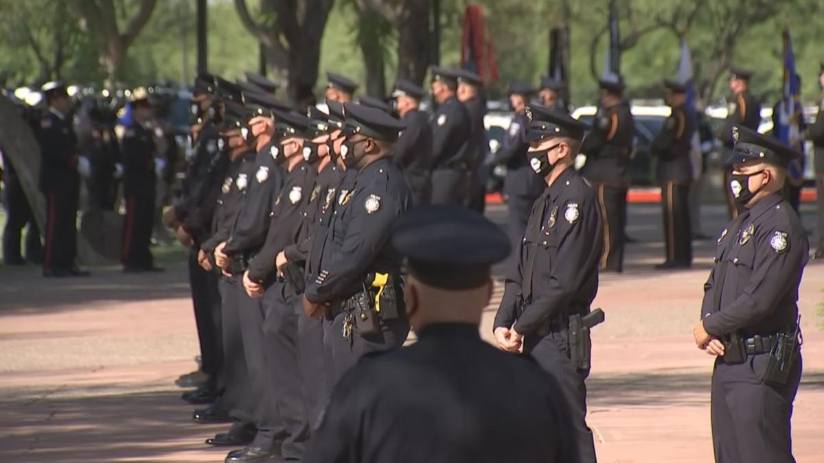Officer Judd funeral