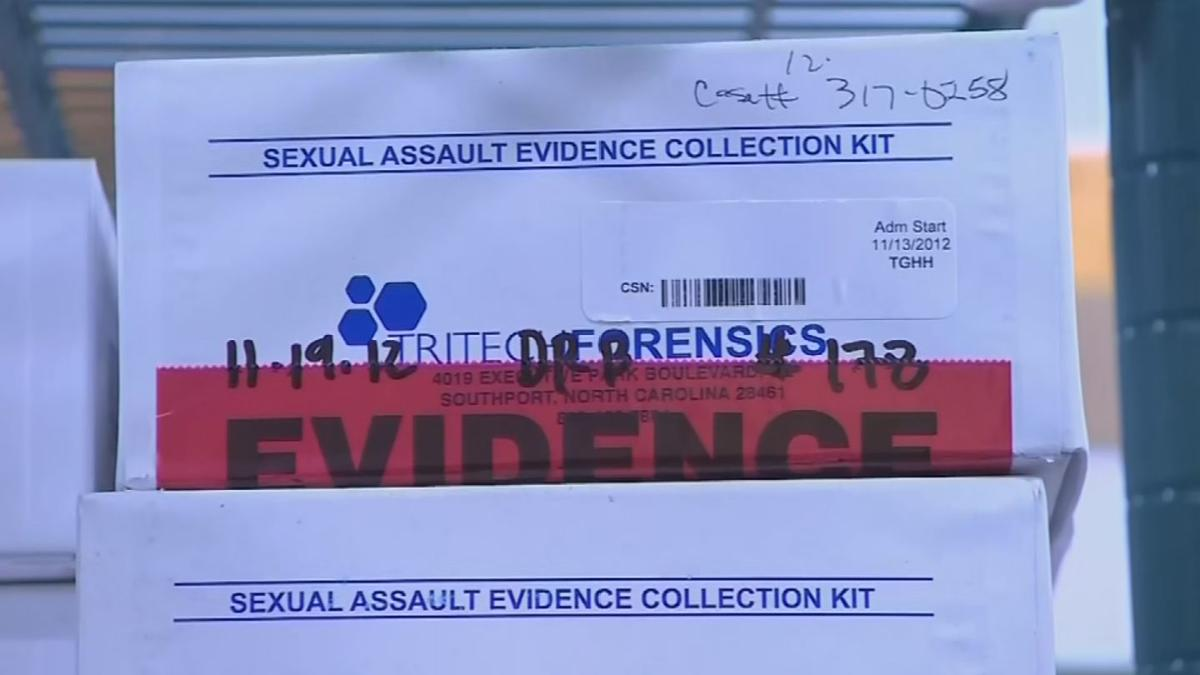 PKG UNTESTED RAPE KITS 2