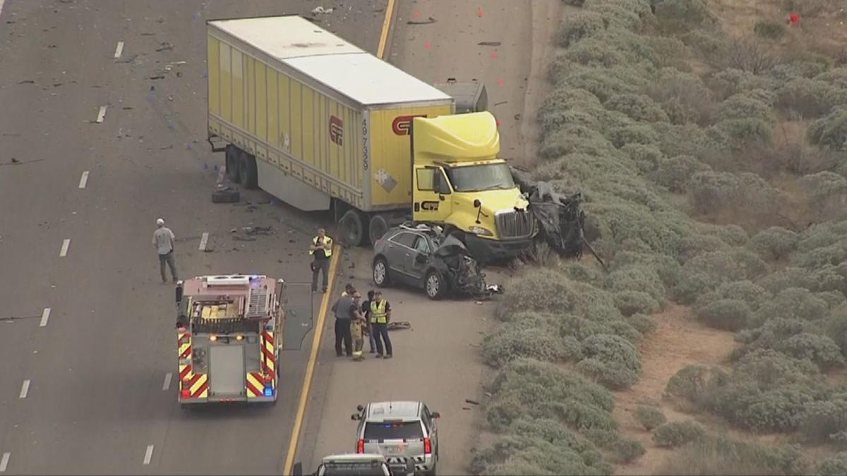 4 identified in deadly 6-vehicle crash on Interstate 10 near Tucson