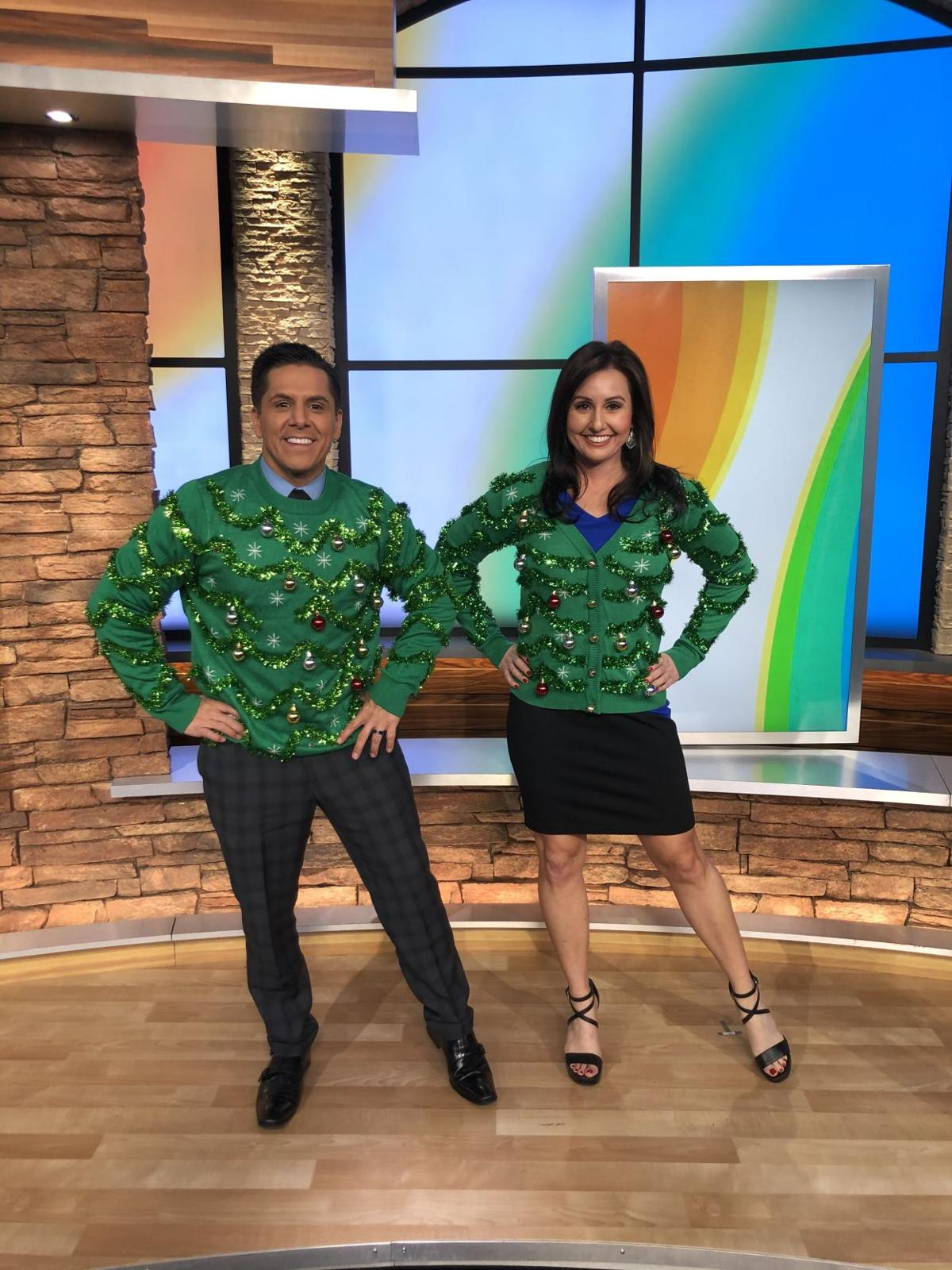 Arizona's Family show off their ugly sweaters