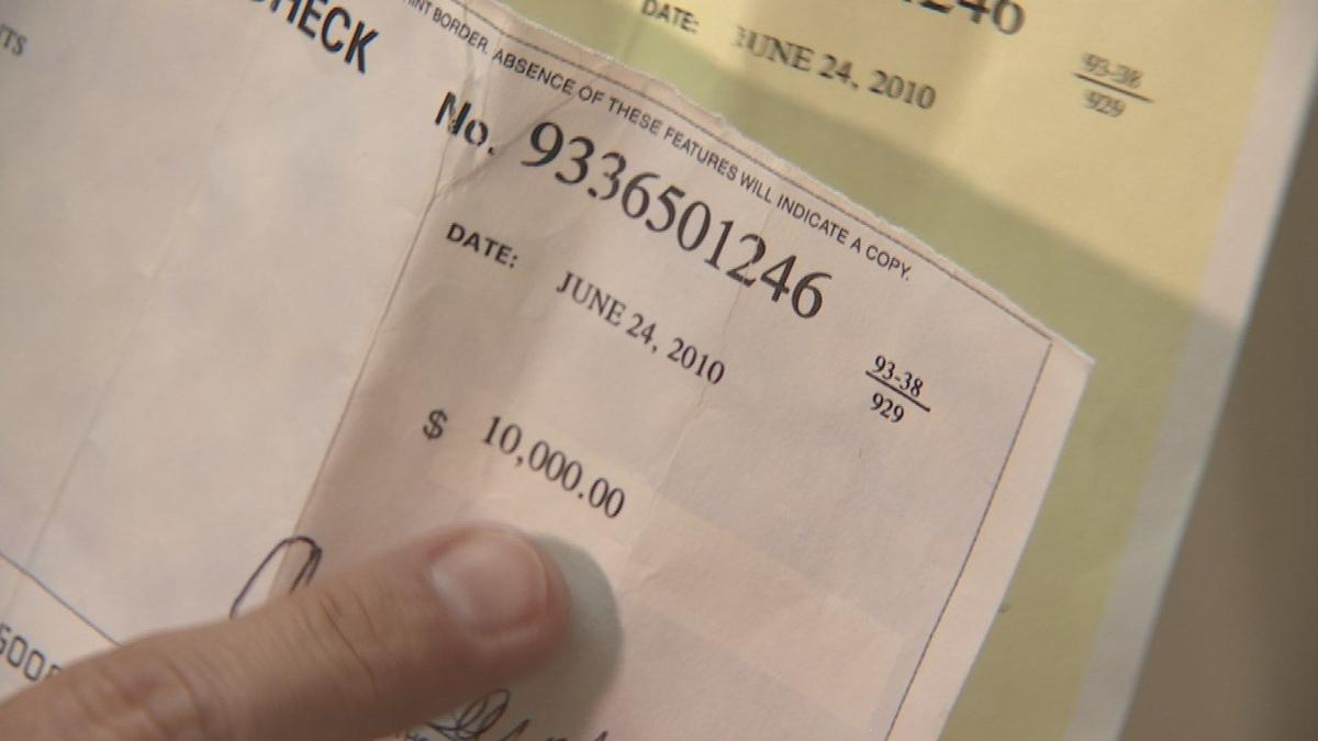 Mystery of missing $10,000 solved