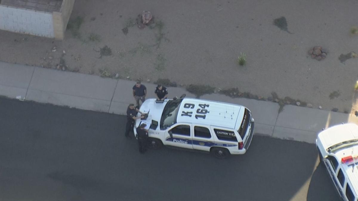No officers hurt in west Phoenix officer-involved shooting