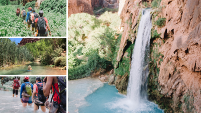 Hiking Havasupai