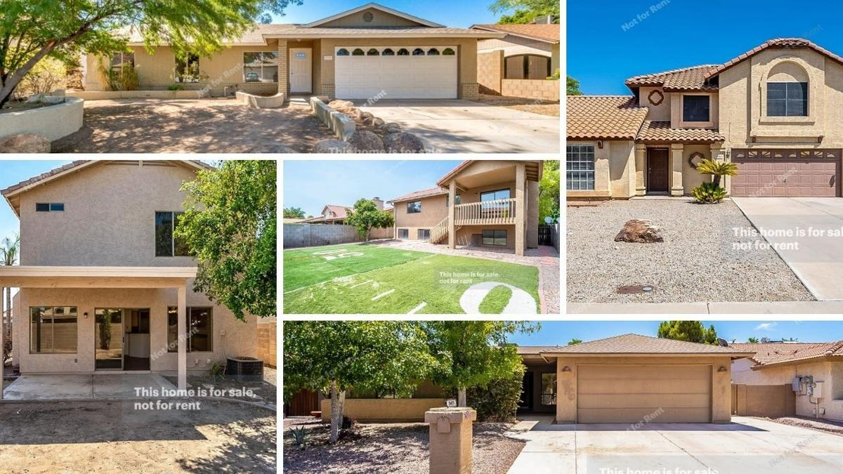 Phoenix-area homes under $350K available now