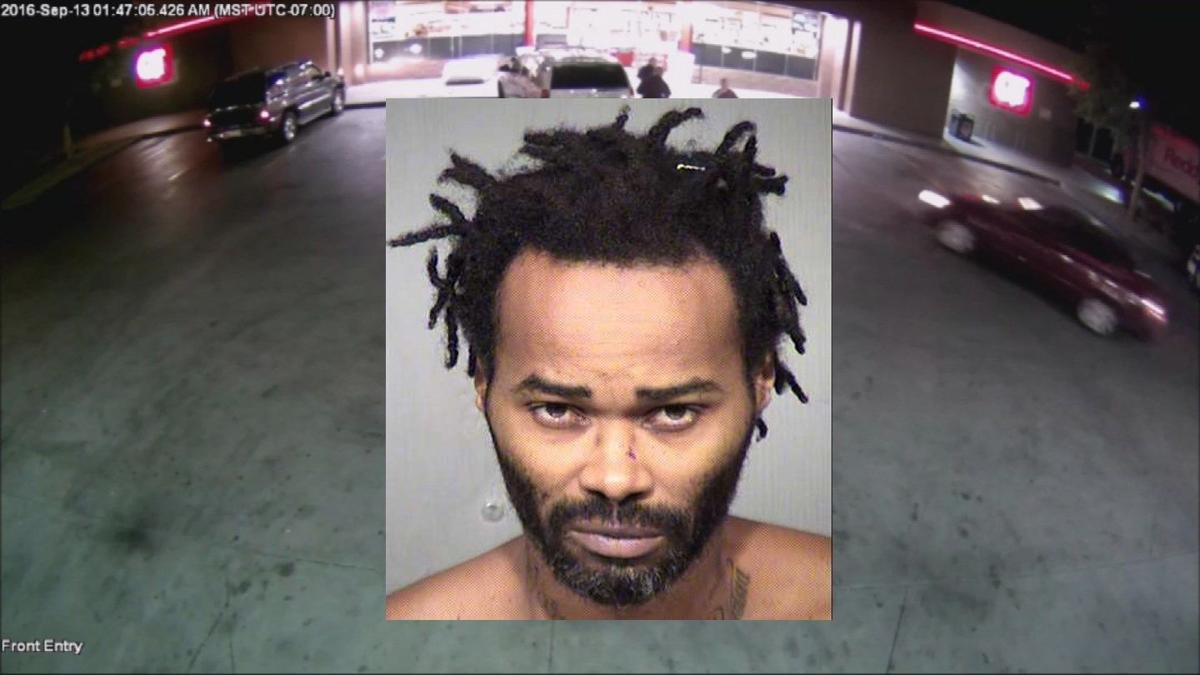 Suspect who rammed 3 Phoenix officers with car booked into jail; video of attack released