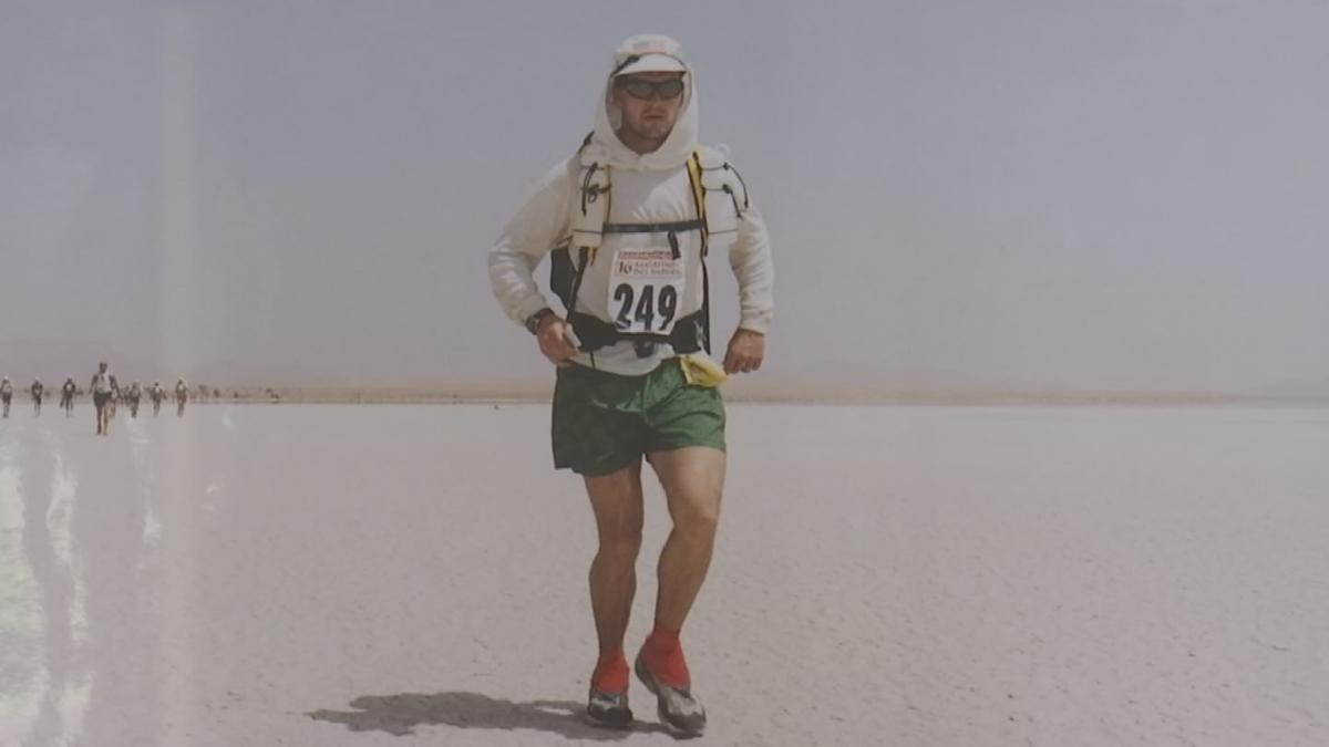 Valley man wins Olympic gold, overcomes cancer and runs competitively