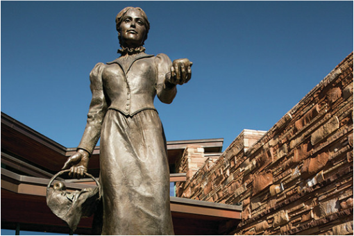 Statue of Sedona Schnebly
