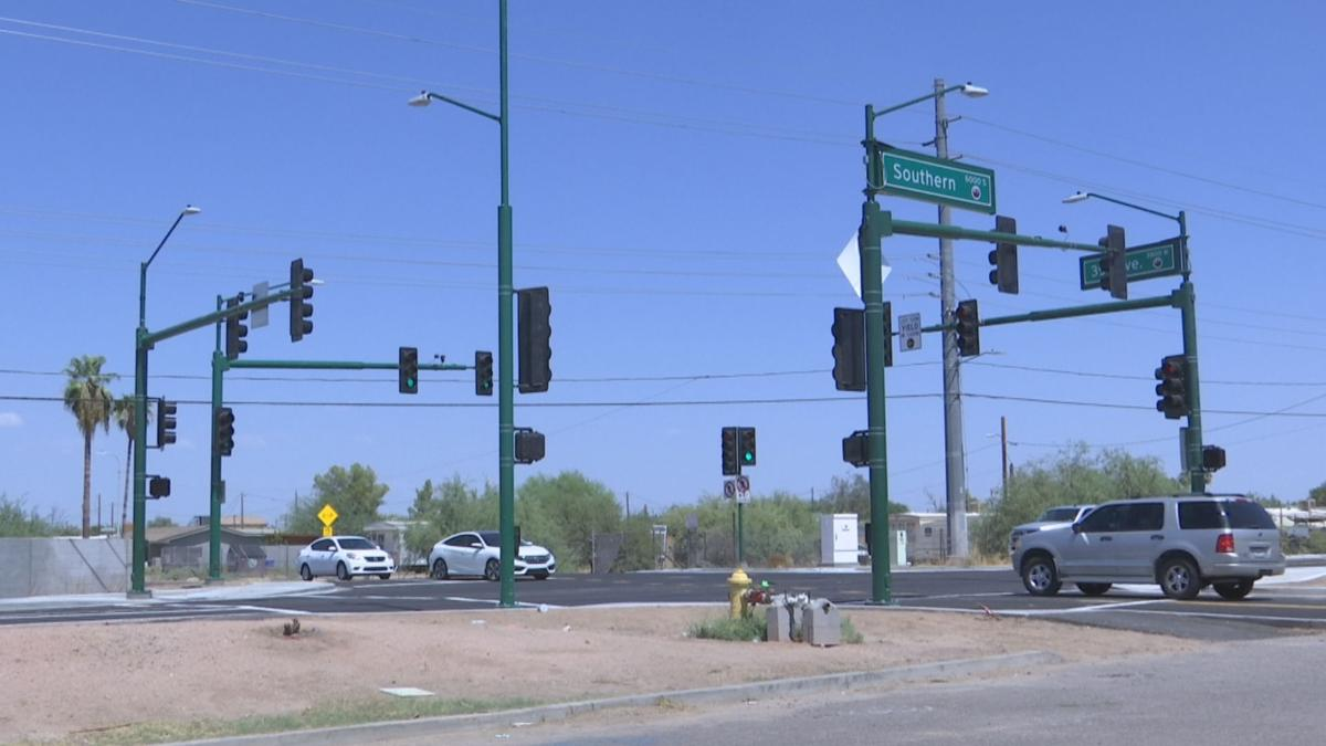 Intersection receives a makeover
