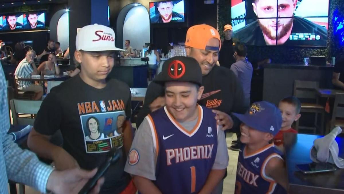 Suns fans during Game 6
