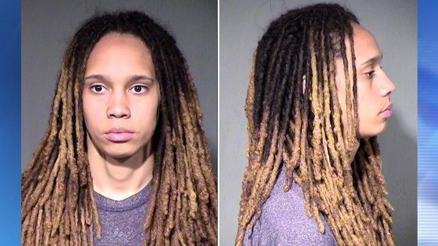 WNBA power couple Brittney Griner, Glory Johnson arrested for domestic violence