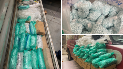 Over $1 million worth of meth, fentanyl pills found during traffic stop in Yavapai County