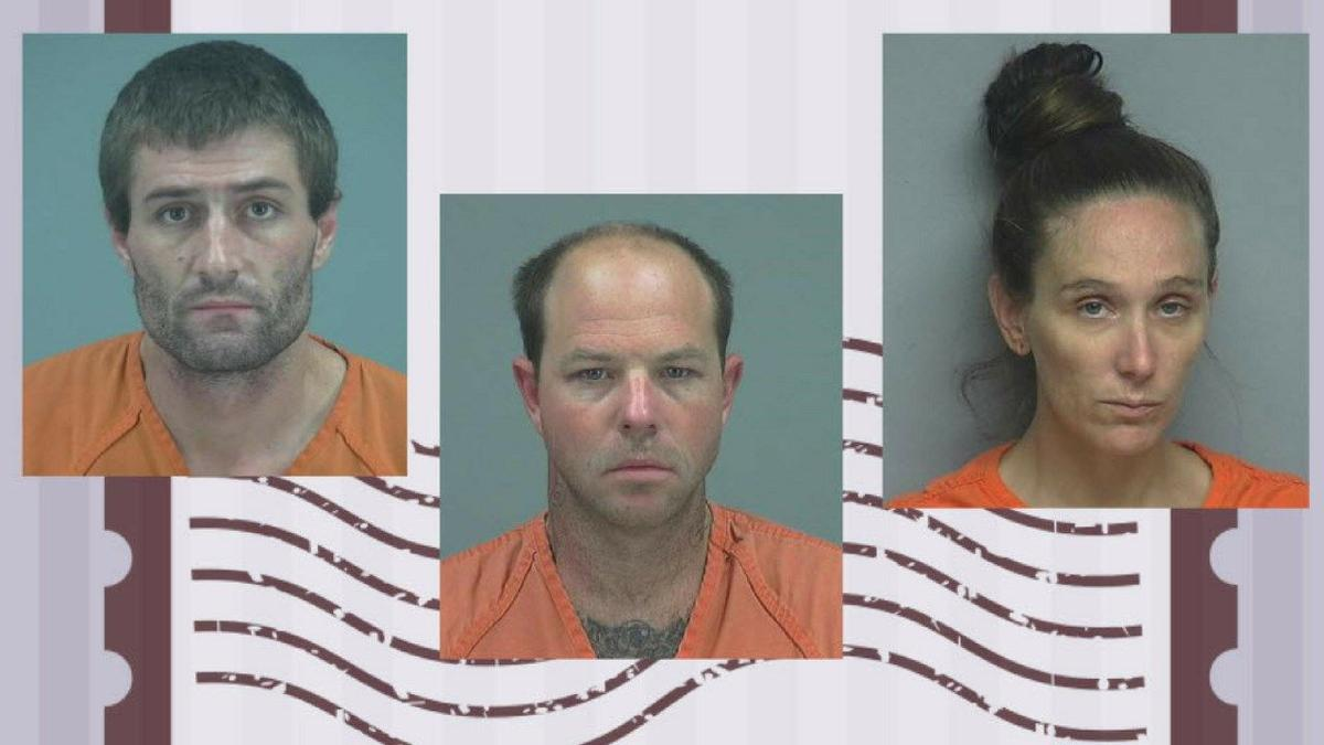 Inmates accused of trying to smuggle meth by mail into county jail