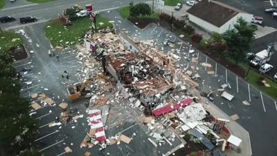 Workers smelled gas before an explosion leveled a North Carolina KFC